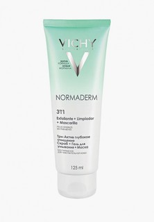 Гель для умывания Vichy Очищающий Normaderm 3 В 1 125 мл