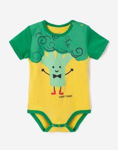 Боди-футболка с рисунком для малыша Gloria Jeans