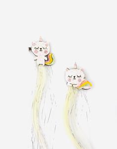 Заколки для волос с декором для девочки Gloria Jeans