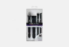 Набор профессиональных кистей для макияжа в чехле (4 шт) Royal AND Langnickel