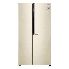 Холодильник LG GC-B247JEDV, двухкамерный, бежевый