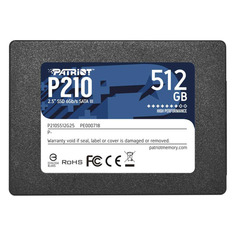 "SSD накопитель PATRIOT P210 P210S512G25 512ГБ, 2.5"", SATA III Патриот"