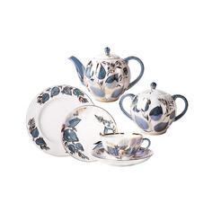 Чайный сервиз ЛФЗ Лунный тюльпан 6 персон 20 предметов