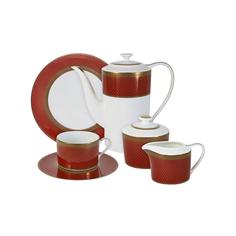 Чайный сервиз Naomi Кармен 6 персон 21 предмет