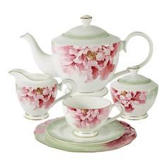 Чайный сервиз Anna Lafarg Заря 6 персон 21 предмет
