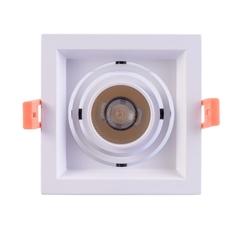 Светильник потолочный De Markt Круз 1x7W LED (637016101)