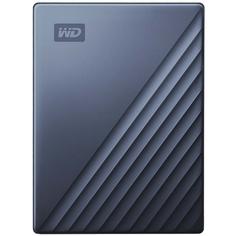"Внешний жесткий диск 2.5"" WD 4TB My Passport Ultra Blue (WDBFTM0040BBL-WESN)"