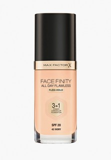 Тональное средство Max Factor Facefinity All Day Flawless 3-in-1, тон 42 ivory