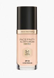 Тональное средство Max Factor Facefinity All Day Flawless 3-in-1, тон 10 fair porcelain