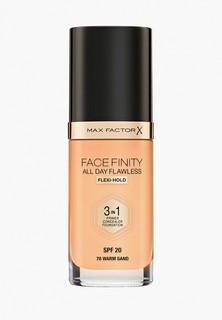 Тональное средство Max Factor Facefinity All Day Flawless 3-in-1, тон 70 warm sand