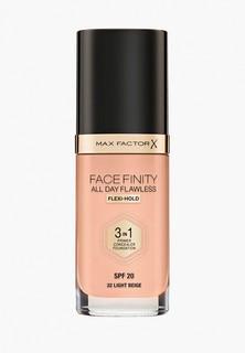 Тональная основа Max Factor Facefinity All Day Flawless 3-in-1, тон 32 light beige