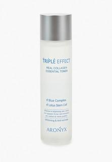 Тоник для лица Medi Flower Aronyx Тройной эффект, с морским коллагеном, 150 мл