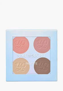 Палетка для лица Make-Up Secret BRONZE'N'ROUGE, 4,5 гр