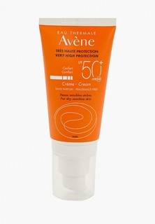 Крем солнцезащитный Avene SPF 50+, без отдушек, 50 мл