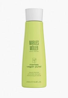 Шампунь Marlies Moller для красоты волос VEGAN PURE, 200 мл