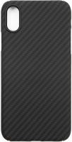 Чехол Barn&Hollis Carbon для iPhone XR Matte Grey (УТ000020466)