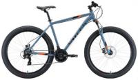 """Горный велосипед Stark Hunter 27.2 + HD 18""""/2020, серый/черный/оранжевый (H000016289)"""