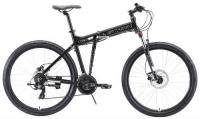 """Горный велосипед Stark Cobra 27.2 HD 18""""/2020, черный/белый (H000016458)"""