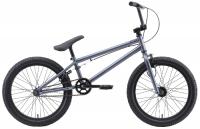 Городской велосипед Stark Madness BMX 1 2020, серый/оранжевый (H000016469)