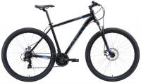 """Горный велосипед Stark Hunter 29.2 D 20""""/2020, черный/серый/голубой (H000015945)"""
