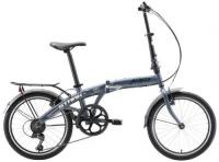 Городской велосипед Stark Jam 20.1 V 2020, серый/черный/белый (H000016466)