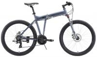"""Горный велосипед Stark Cobra 26.2 D 18""""/2020, серый/черный (H000016464)"""