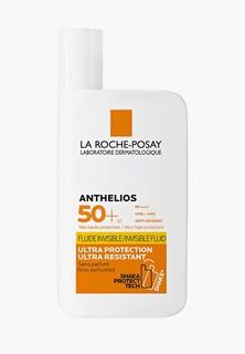 Флюид для лица La Roche-Posay и кожи вокруг глаз, невидимый, ANTHELIOS SPF50+, 50 мл