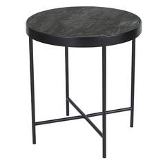 Столик кофейный benigni (berg) черный 42x46x42 см.