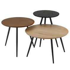 Набор кофейных столиков sodano , 3 шт. (berg) мультиколор