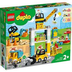Конструктор LEGO DUPLO Town 10933: Башенный кран на стройке