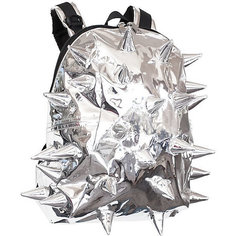 Рюкзак MadPax Rex Half Spike Chrome, серебристый