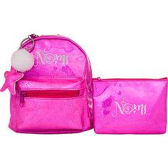 Ранец Nomi «Маленькая принцесса» с косметичкой, 17х19х7 см