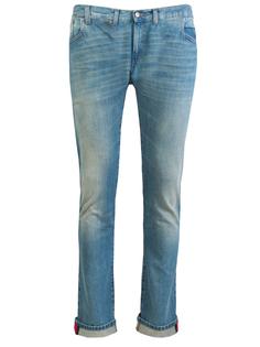 Хлопковые джинсы Gucci