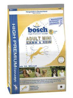 Сухой корм Bosch мелких пород, ягненок/рис, 3 кг