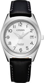 Японские женские часы в коллекции Eco-Drive Женские часы Citizen FE6150-18A