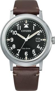 Японские мужские часы в коллекции Eco-Drive Мужские часы Citizen AW1620-21E