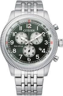 Японские мужские часы в коллекции Eco-Drive Мужские часы Citizen AT2460-89X