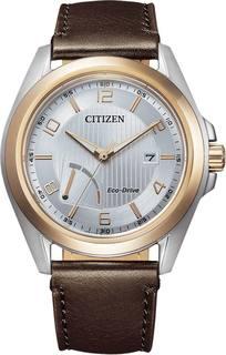 Японские мужские часы в коллекции Eco-Drive Мужские часы Citizen AW7056-11A