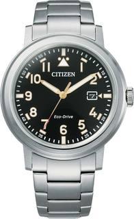 Японские мужские часы в коллекции Eco-Drive Мужские часы Citizen AW1620-81E