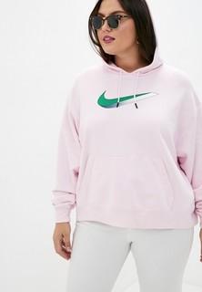 Худи Nike W NSW ICN CLSH HOODY FT PLUS