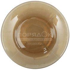 Тарелка обеденная стеклянная, 205 мм, дымка 62072 Basilico