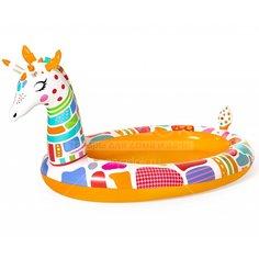 Бассейн надувной Bestway Дремлющий жираф 53089, 266х157х127 см