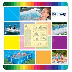 Ремкомплект для бассейнов Bestway 62091 (заплатки)