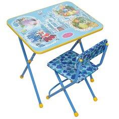 Набор детской мебели Nika Волшебный мир КП2/16 (стол, стул)