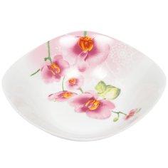 Салатник керамический, 200 мм, Орхидея 19-068# Daniks