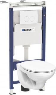Комплект подвесной унитаз Kolo Idol M1310002U + система инсталляции Geberit 458.122.11.1