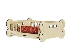 Сборная модель Орландо Лежак для животных Косточки 038009лжк001 Orlando