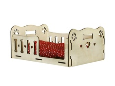 Сборная модель Орландо Лежак для животных Лапки 038009лжк003 Orlando