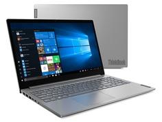 Ноутбук Lenovo ThinkBook 15-IIL Mineral Grey 20SM002LRU (Intel Core i3-1005G1 1.2 GHz/8192Mb/256Gb SSD/Intel HD Graphics/Wi-Fi/Bluetooth/Cam/15.6/1920x1080/Windows 10 Pro 64-bit)