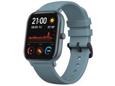 Умные часы Xiaomi Huami Amazfit GTS A1914 Steel Blue Выгодный набор + серт. 200Р!!!